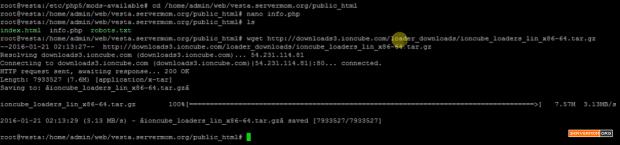 download ioncube package ubuntu