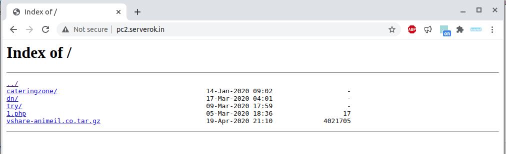 Apache disable directory index – ServerOK