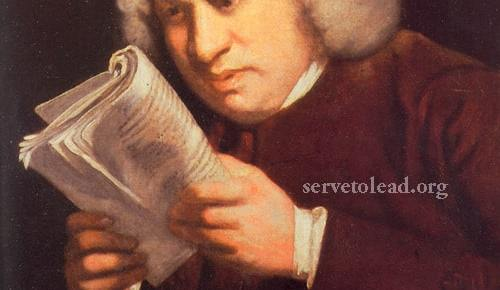 samuel johnson painting reading color joshua reynolds quote work as portrait serve to lead