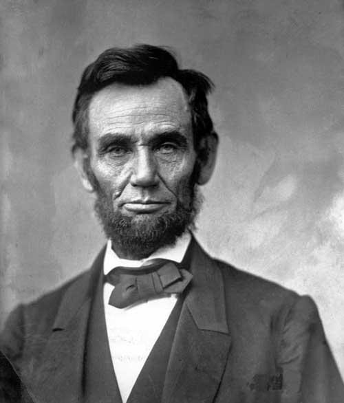 Abraham Lincoln Alexander Gardner portrait www.servetolead.org