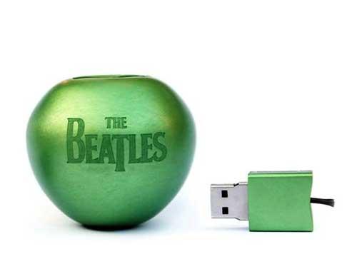 Apple The Beatles green digital power www.servetolead.org