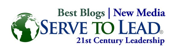 Serve to Lead Best Blogs, New Media |21st Century Leadership logo at www.servetolead.org