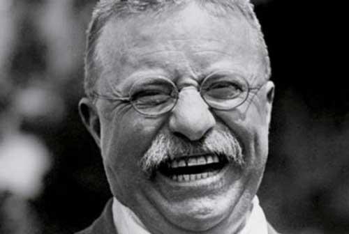 Theodore Roosevelt smile ebullient www.servetolead.org