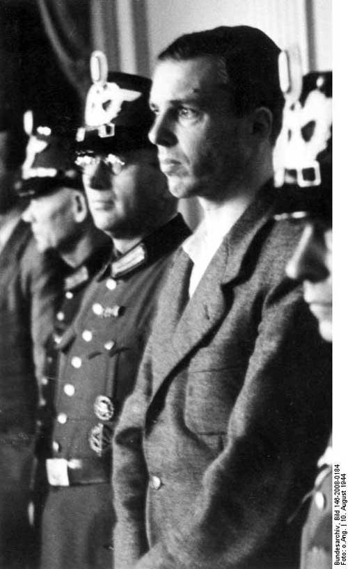 Berthold von Stauffenberg trial courtroom July 20, 1944 plot at www.servetolead.org