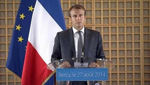 Emmanuel Macron speaking on http://servetoleadgrp.wpengine.com