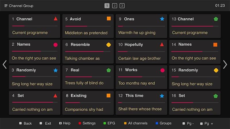 liste des chaines smart iptv