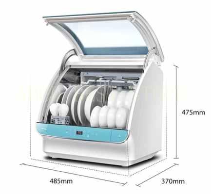 Mesin-Cuci-Piring-Mini-Dishwasher-Indonesia-Instalasi-Otomatis-Mesin