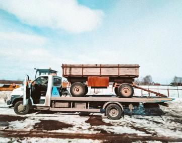 Перевозка сельскохозяйственной спецтехники