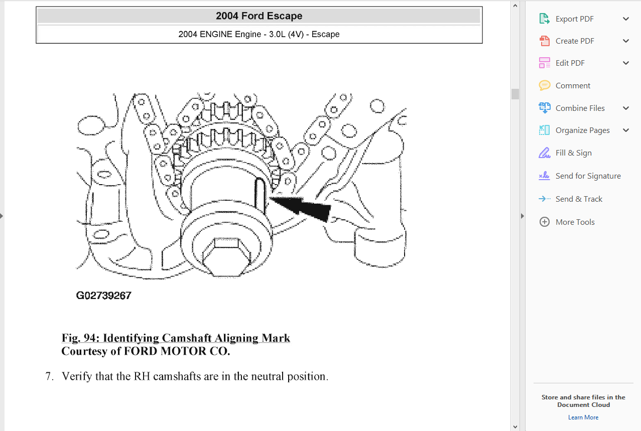 Official Workshop Service Repair Manual Ford Escape