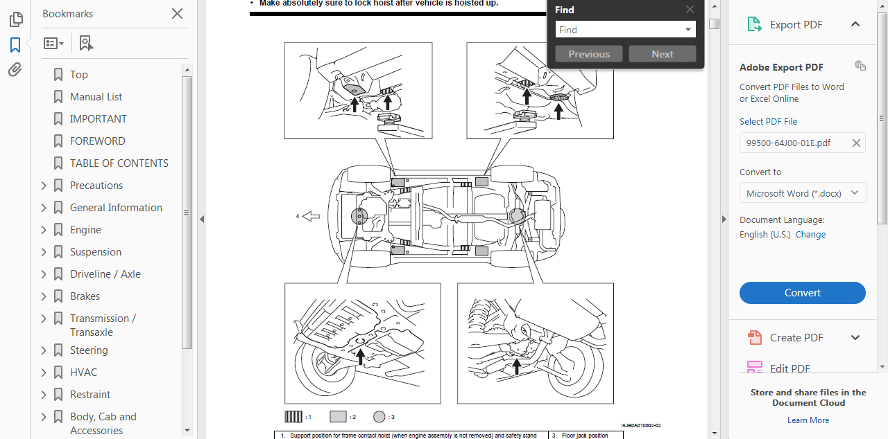OFFICIAL WORKSHOP Service Repair MANUAL for SUZUKI GRAND