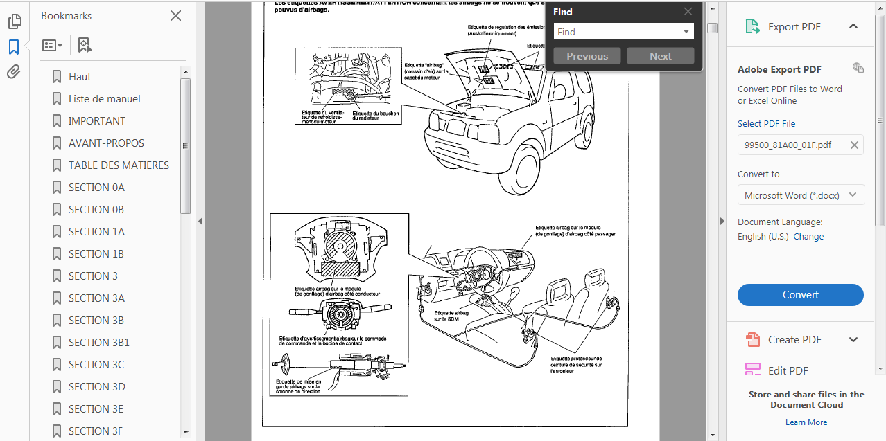 hight resolution of screenshots form the manual