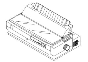 List of Epson LQ-2070 service manuals, repair instructions