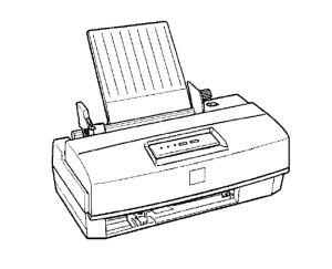 List of Epson Stylus Color 200 service manuals, repair