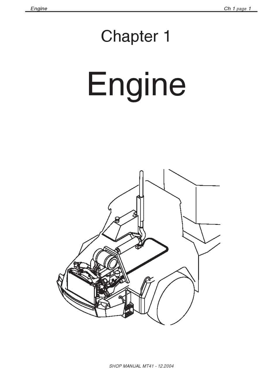 Doosan Dump Truck MT41 Workshop Repair Service Manual PDF