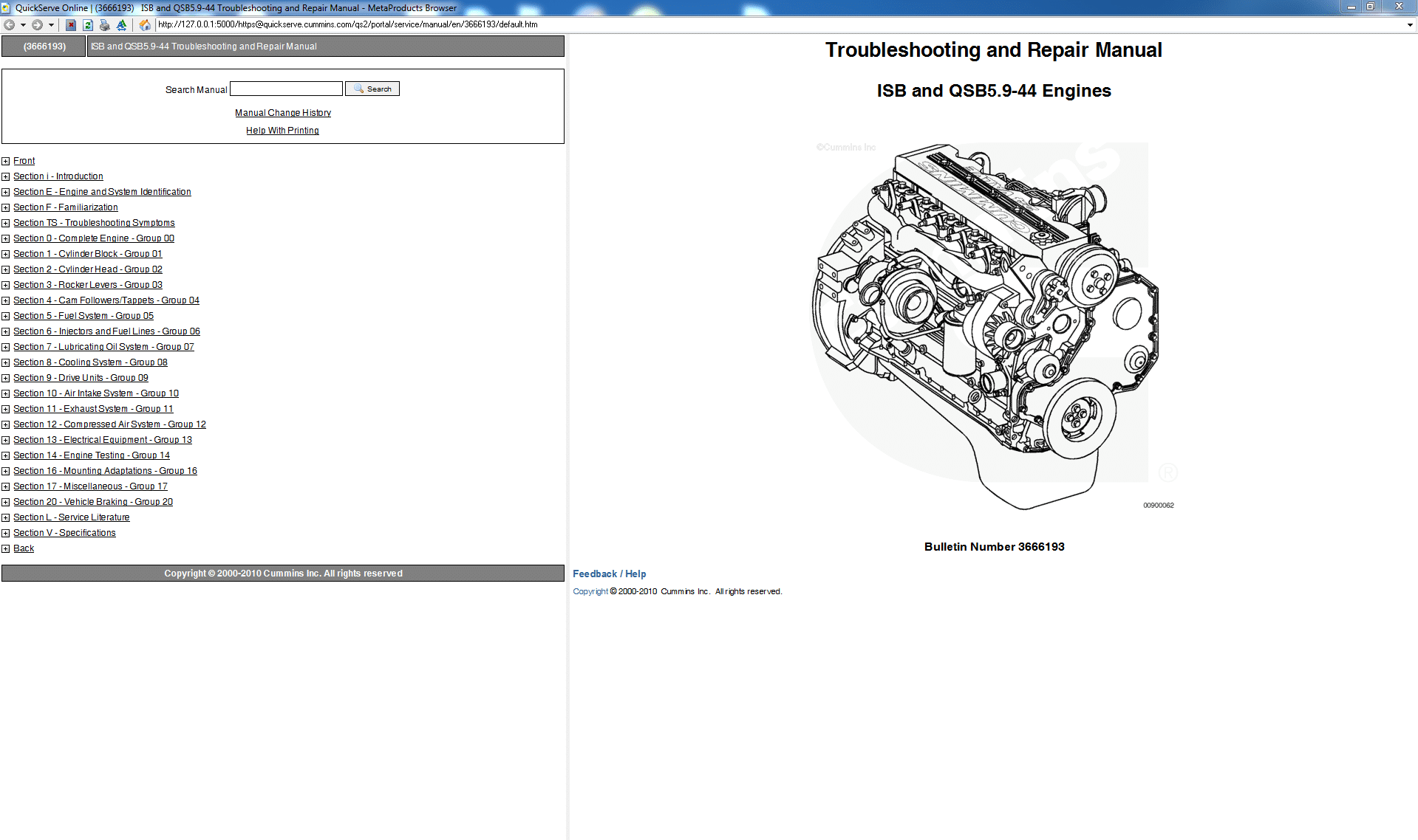 Cummins Troubleshooting and Repair Manual ISB and QSB5.9