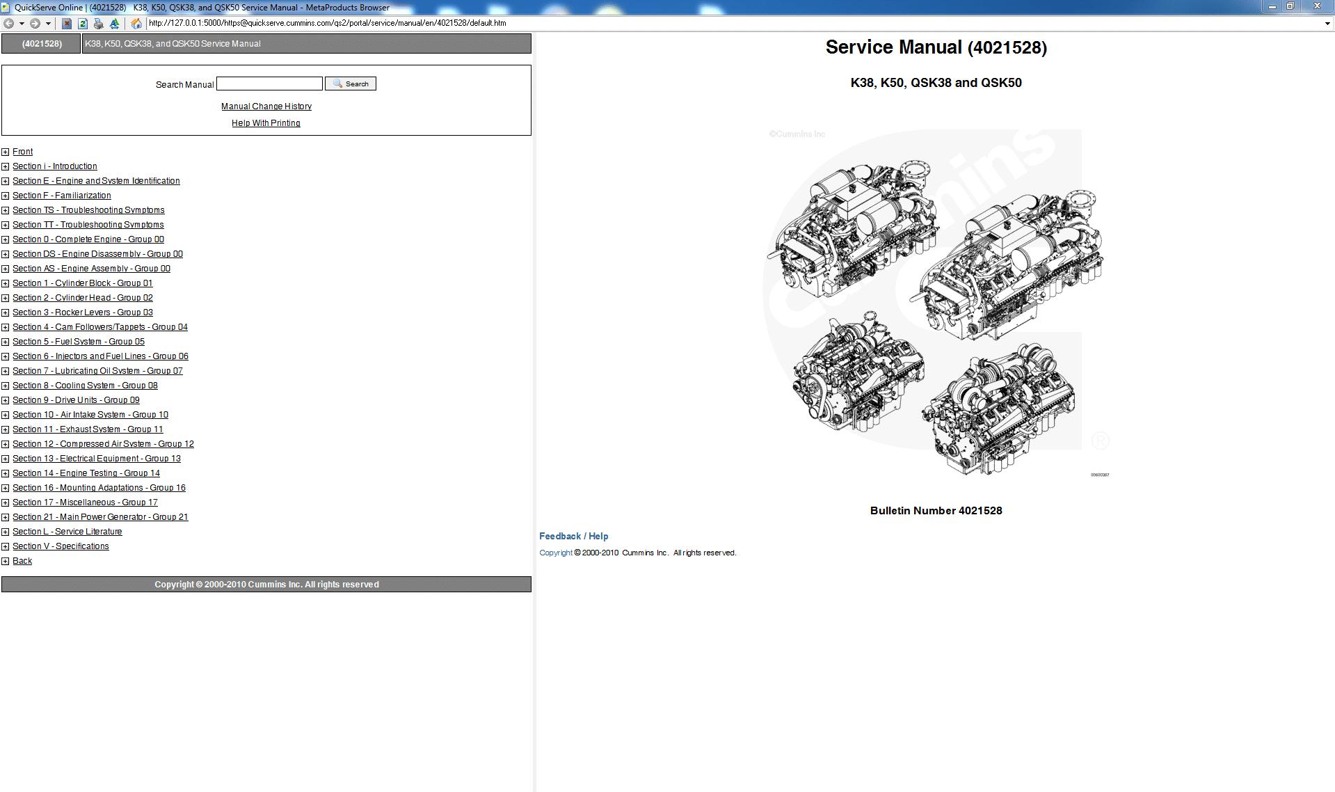 Cummins K38_K50_QSK38_and_QSK50 Service Manual PDF
