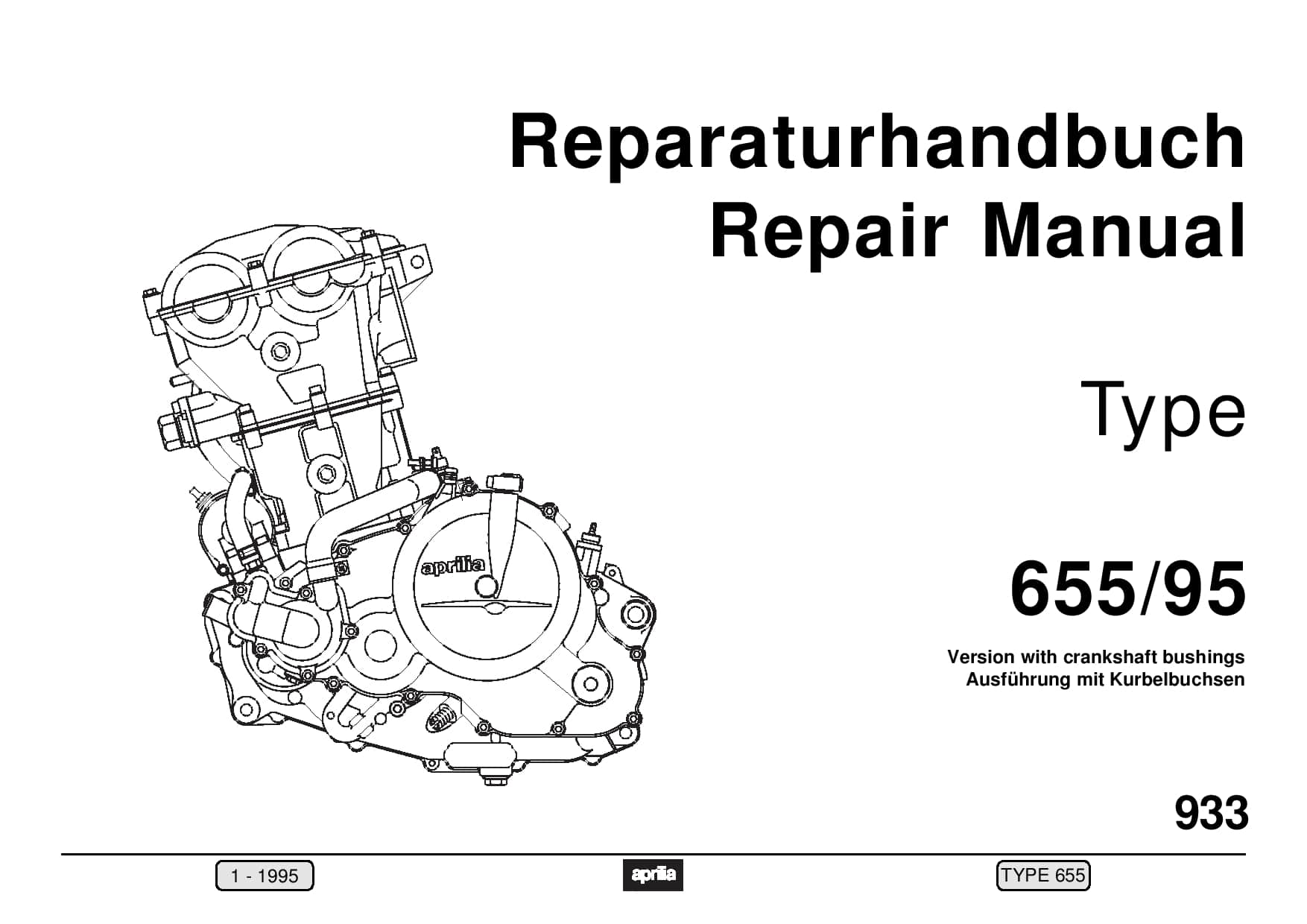 Aprilia Reparatie motor Rotax 655 1995 PDF Download