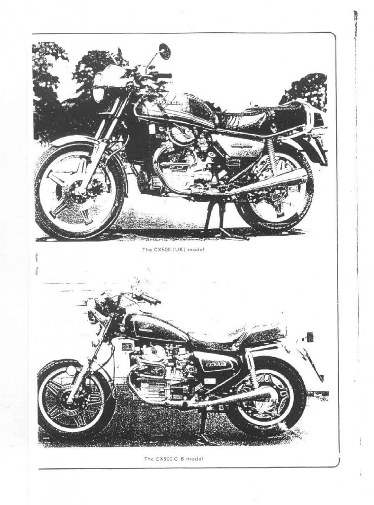 Honda CX 500 C 1978 1986 Repair Manual PDF Download