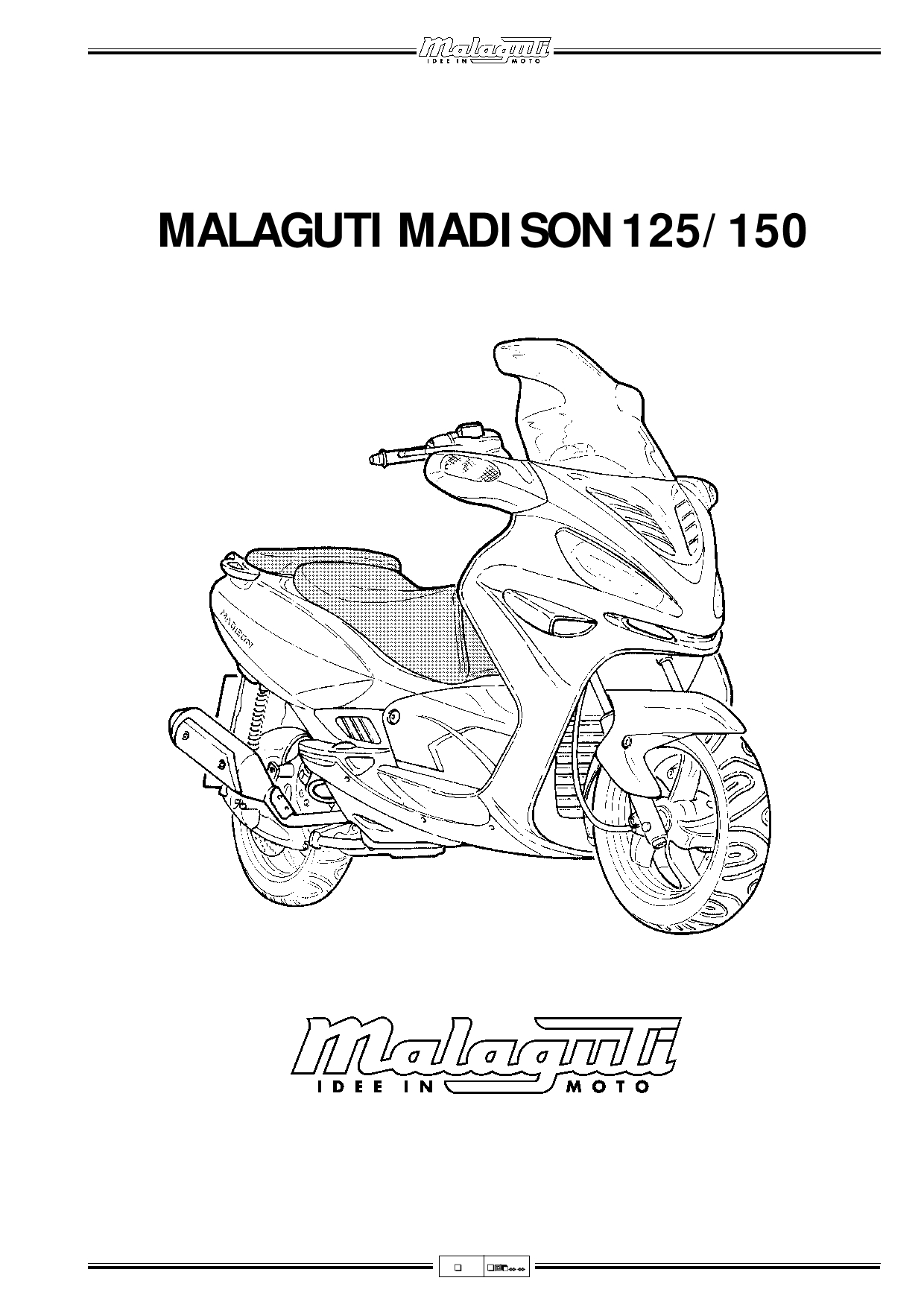 Malaguti Madison 125 150 Service Manual PDF Download
