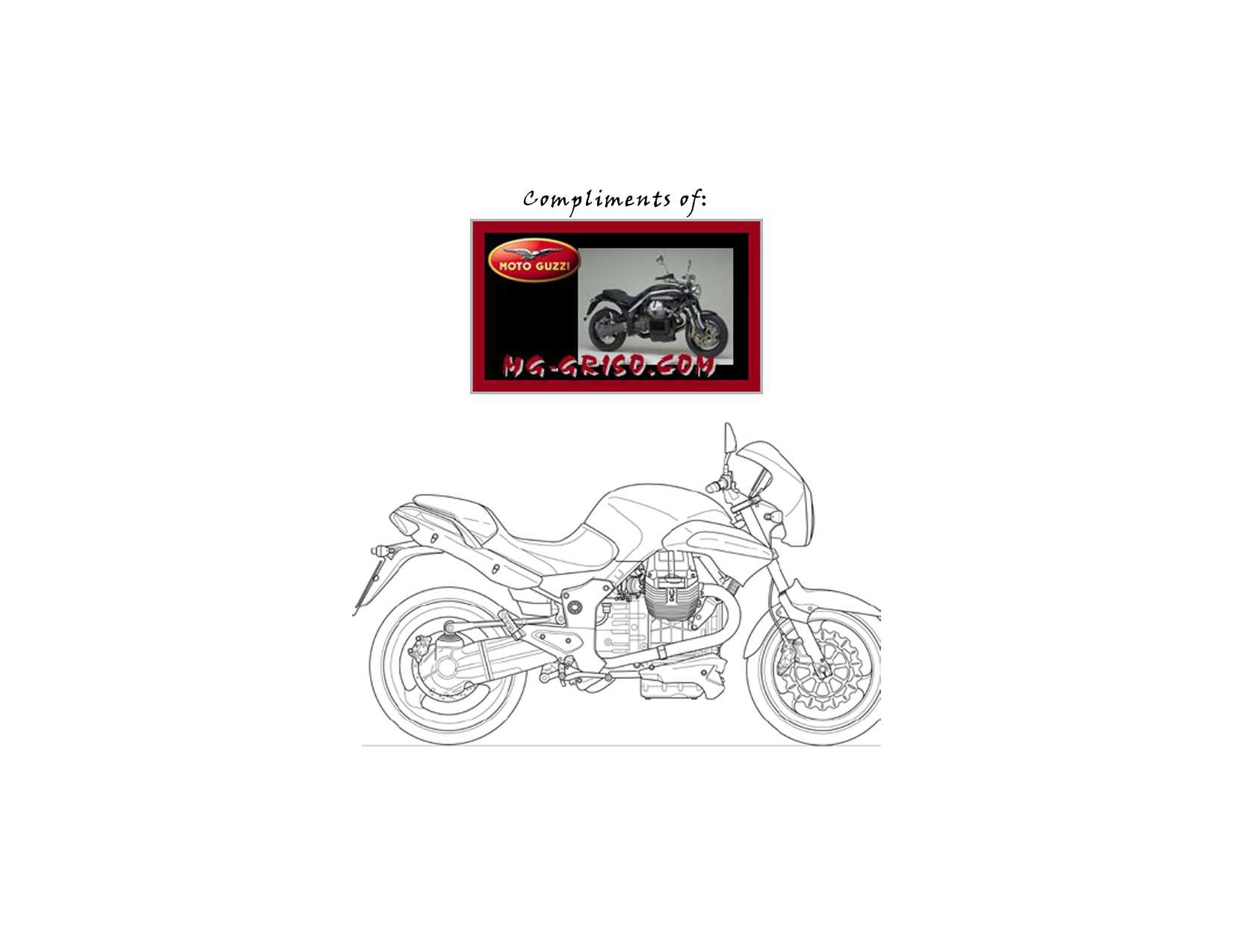 Moto Guzzi 1200 Sport 2006 Parts List PDF Download
