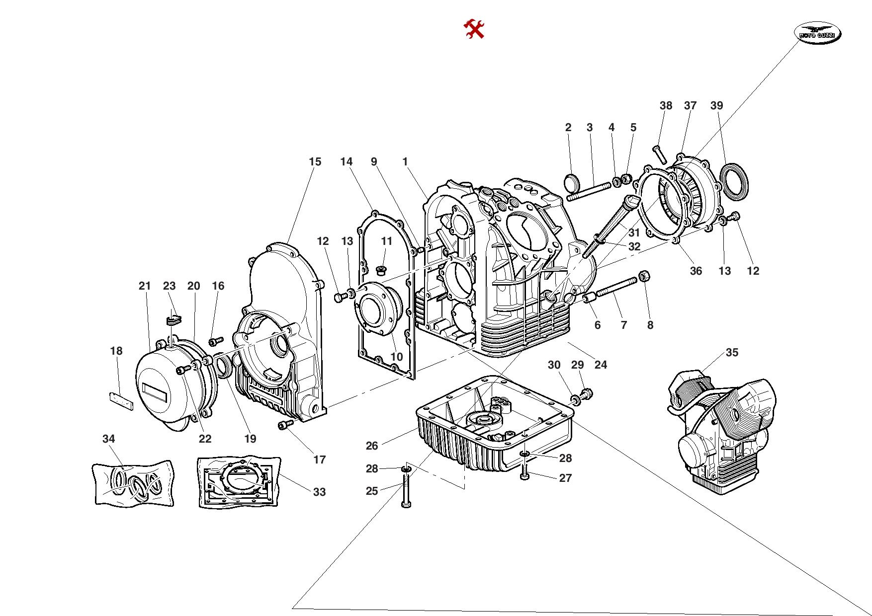 Moto Guzzi California Special Sport 2001 Parts List PDF