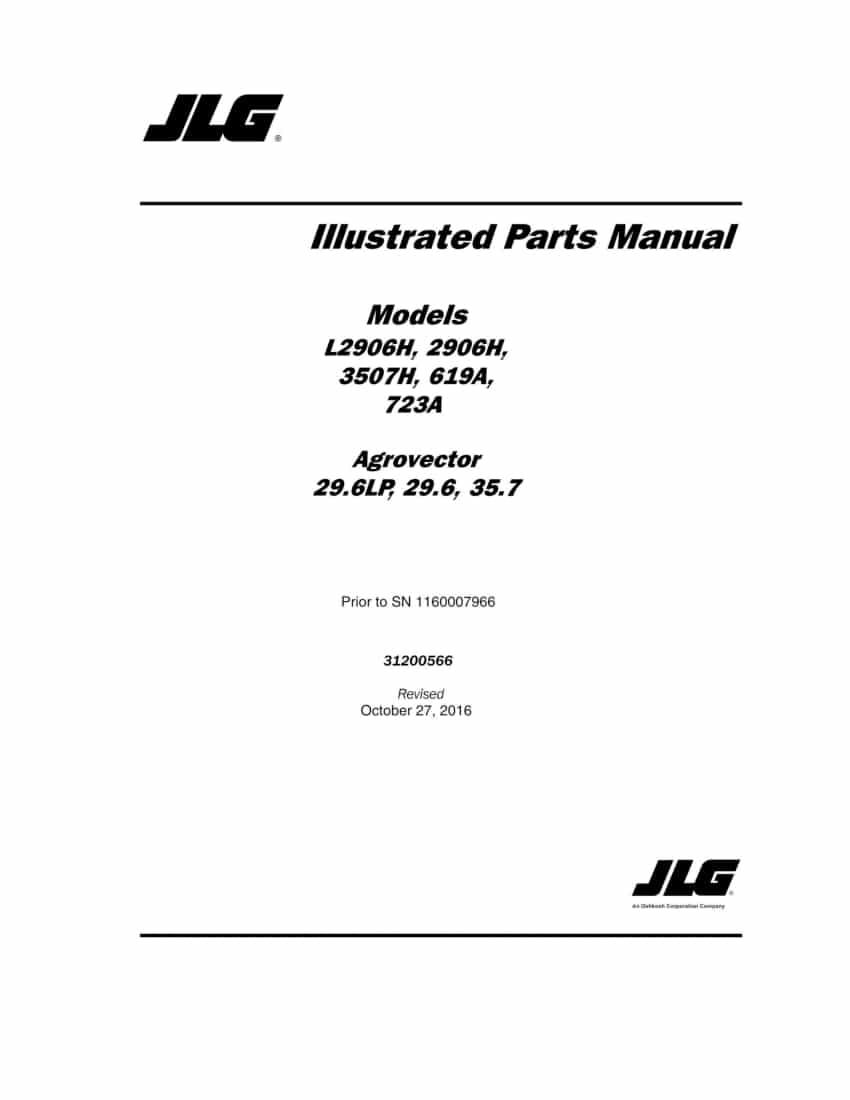 Deutz-Fahr Agrovector 29.6LP 29.6 35.7 L2906H, 2906H