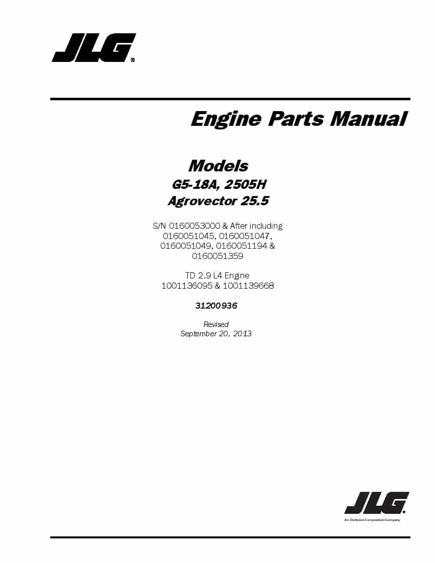 Deutz-Fahr Agrovector G5-18A, 2505H 25.5 Engine parts
