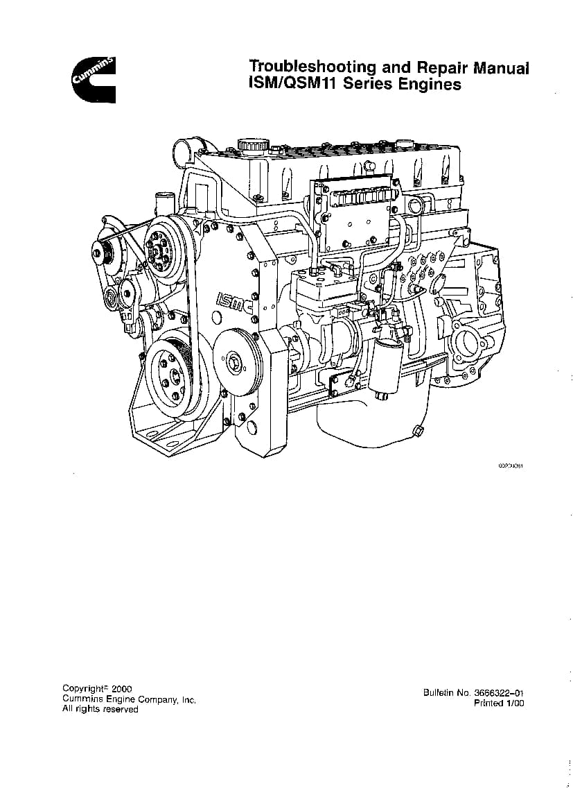 CUMMINS QSM11 Troubleshooting & Repair manual PDF Download
