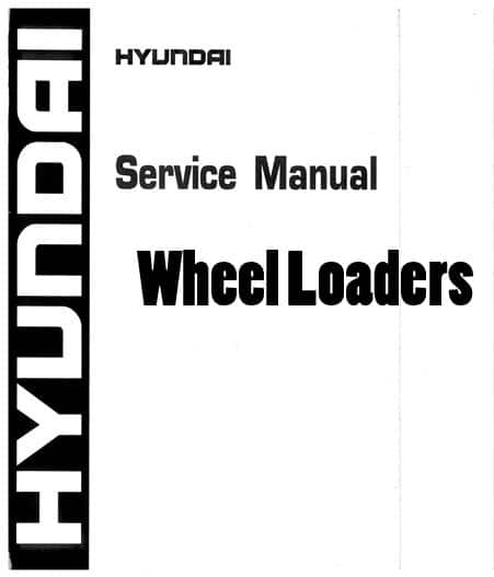 Hyundai HL730-3 Wheel Loaders Workshop Repair Service
