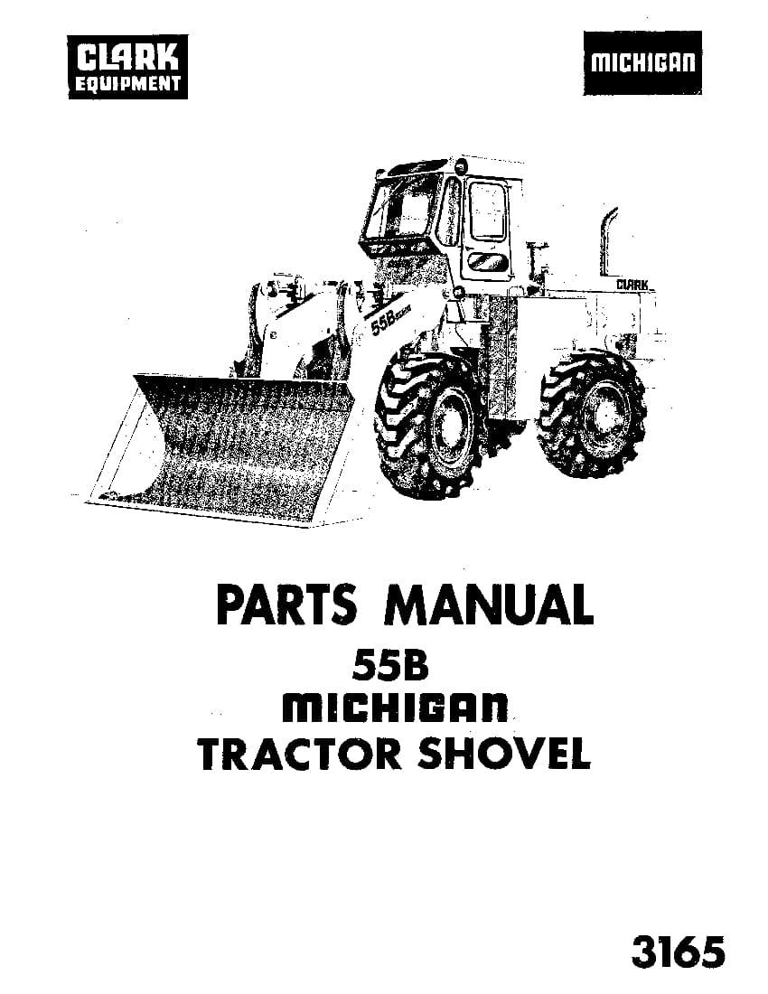 MICHIGAN 3165-55B WHEEL LOADER Parts Manual PDF Download