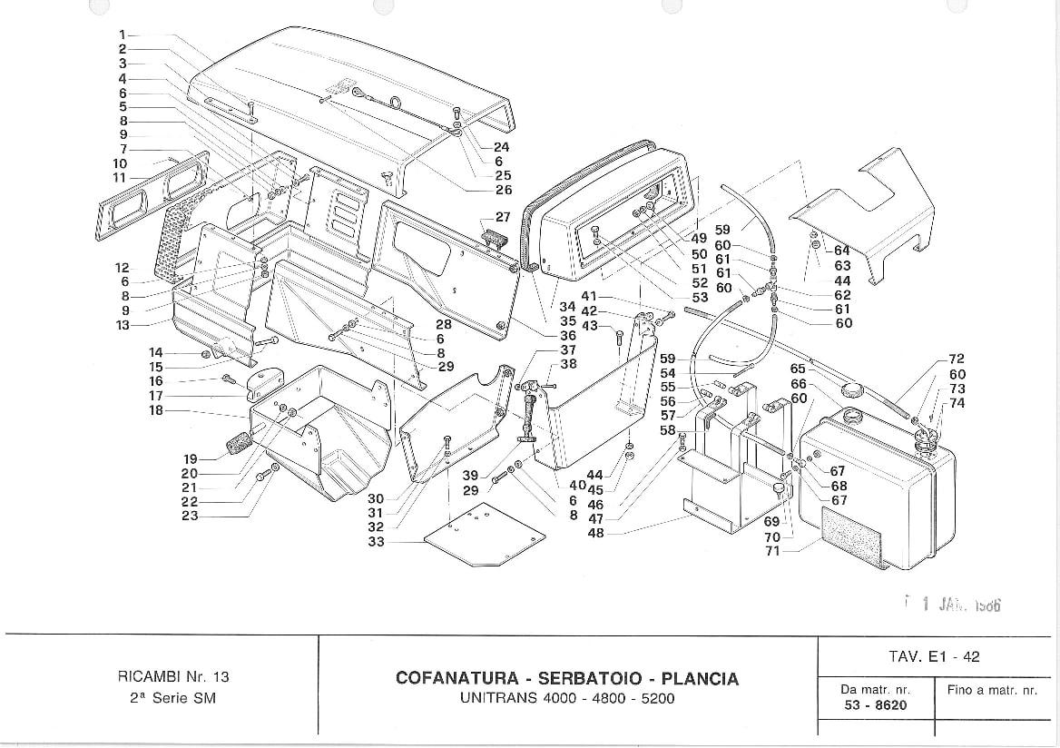 Tractors Carraro Tigere 2800 Workshop Repair Service