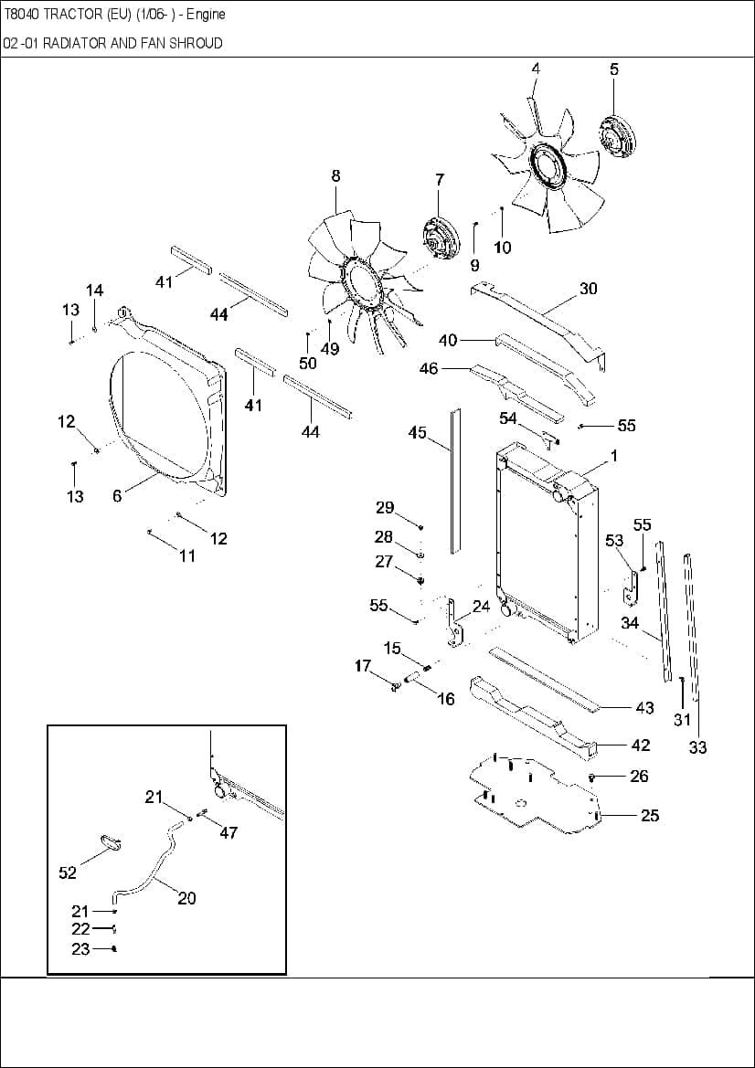 Tractors New Holland T8040 Workshop Repair Service Manual