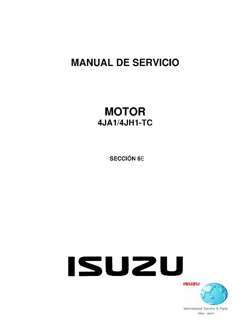 Engine Driveability and Emissions 4HJ1 Euro 4 for Isuzu