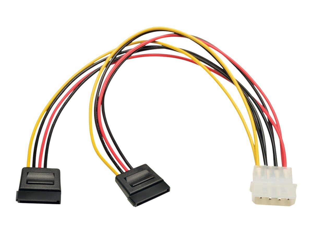 small resolution of tripp lite lp4 4 pin to 2x 15 pin sata power adapter y cable tripp lite wiring harness