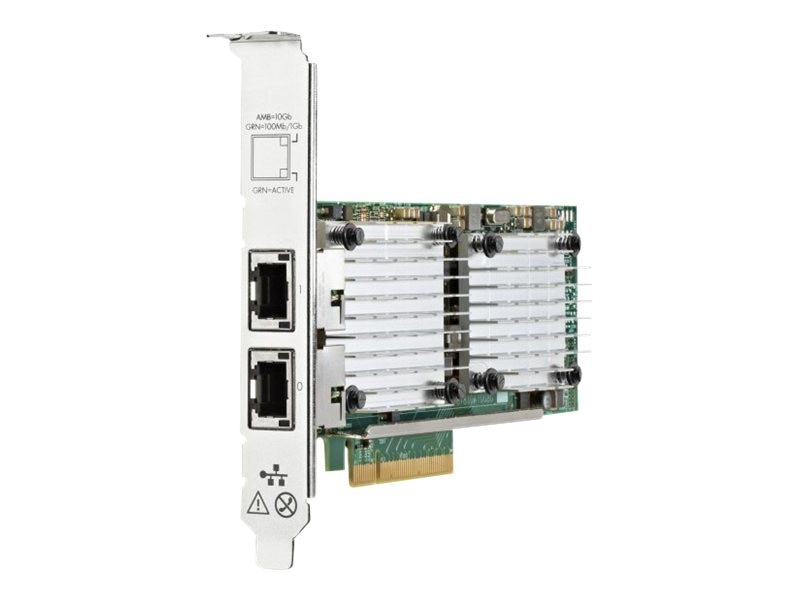 HPE Ethernet 10Gb 2-port 530T Adapter (656596-B21)