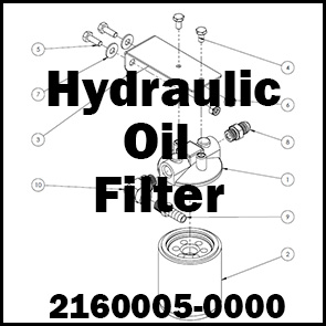 HYDRAULIC OIL FILTER ASSEMBLY – 2160005-0000