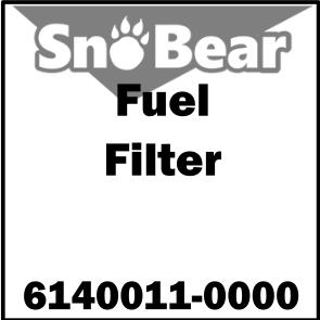 FILTER, FUEL – 1.6L – 6140011-0000