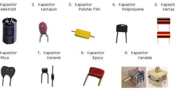 Jenis Jenis Kapasitor
