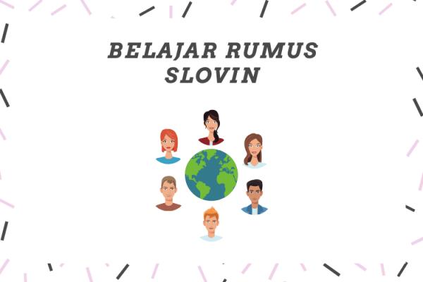 pengertian rumus slovin