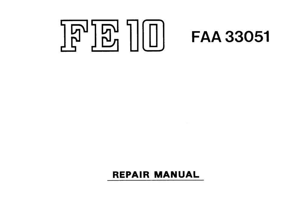 US$9.99: Nikon FA / FE / FM SLR Repair Manual Package