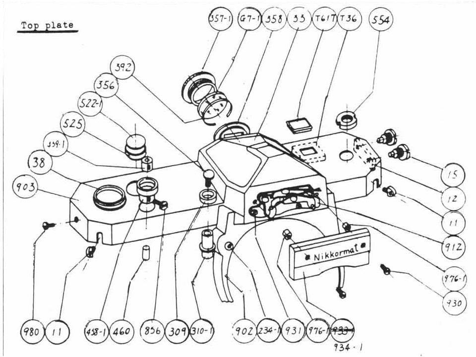 US$9.99: Nikkormat EL / FTN SLR Repair Manual Package