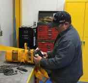 In Shop Hoist Repair