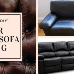 How To Remove Hair Dye Stain From Leather Sofa Bomber Jacket Repair Diy Bonded Peeling