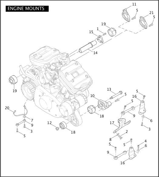 Wiring Manual PDF: 1200 Sportster Engine Diagram