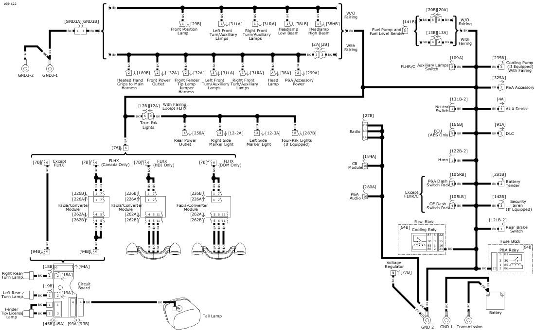 Harley Davidson Headlight Wiring Diagram. Harley Davidson