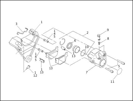 Harley Davidson Brakes Diagram