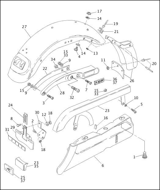 [DIAGRAM] Harley Davidson Softail Parts Diagram FULL