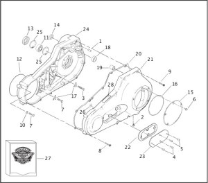 Harley Davidson Engine Oil Pan Diagram  Wiring Diagrams