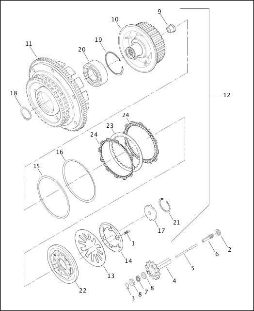 1966 Harley Flh Wiring Diagram