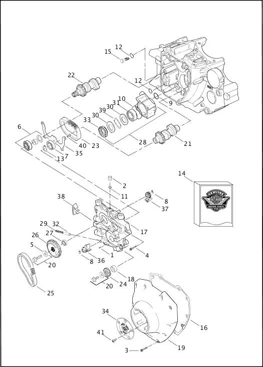 harley davidson 103 engine diagram
